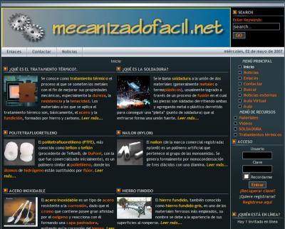 mecanizadofacil.net  -- Todo o que queiras coñecer do mecanizado e do mundo do metal.